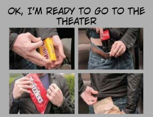 funny-hiding-food-theater-clothes